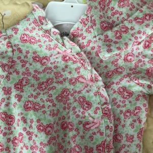 Little Me floral outfit